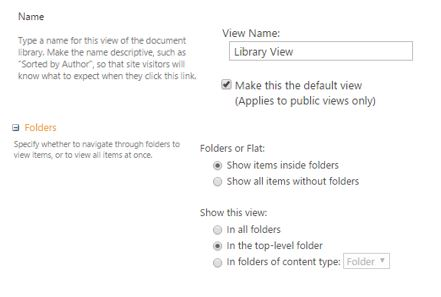 Different type of view in SharePoint2